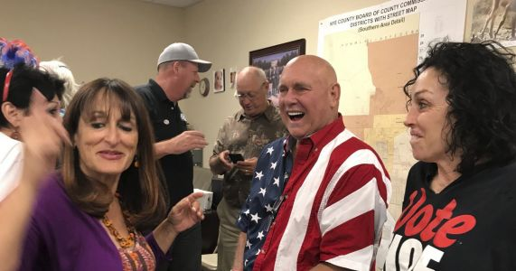 Brothel owner who won primary shunned by Nevada GOP brass