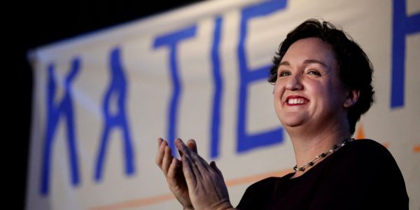 First-term Rep. Katie Porter looks to defend her seat in California's 45th Congressional District