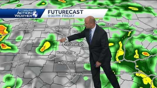 Rain, storms in the weekend forecast