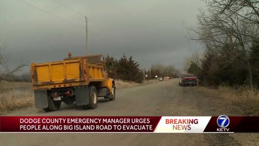 Recommended evacuations in Dodge County