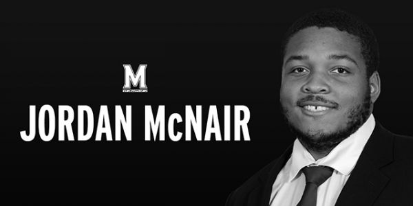 UMd. football players honor Jordan McNair