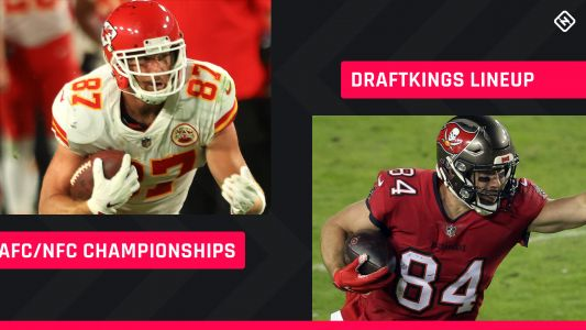 Conference Championship DraftKings Picks: NFL DFS lineup advice for daily fantasy football playoff tournaments