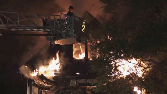 Arson suspected in fire that destroyed Harvey home