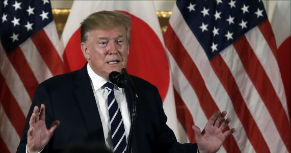 Trump downplays North Korean missile tests