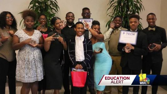 Maryland's first P-TECH class to graduate celebrates in Baltimore