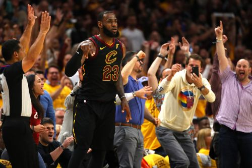 LeBron makes more history as Cavaliers pull even with Celtics