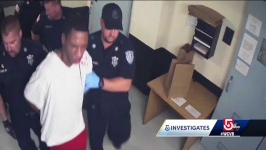 Inmate left bloodied after encounter with correction officers