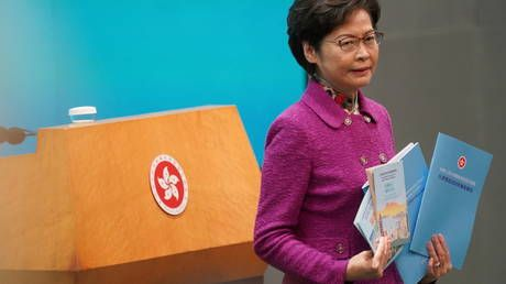Hong Kong is 'gaping hole' in China's national security, city's head says, aiming to restore political system 'from chaos'
