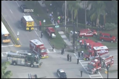Multiple injuries reported in shooting at south Florida high school