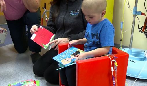 Mail time brings 'a lot of good' to young girl fighting cancer