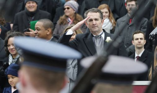 Northam sworn in as governor, pledges less toxic politics