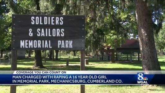 Man charged with raping 16-year-old girl in park