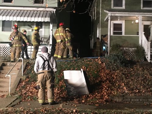 Resident attempts to put out flames when fire breaks out inside of Munhall home