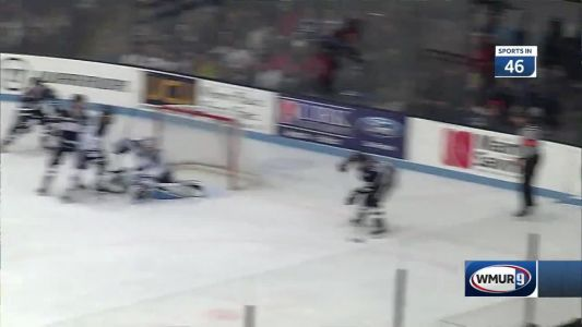 UNH, Maine Tie 4-4 in Overtime