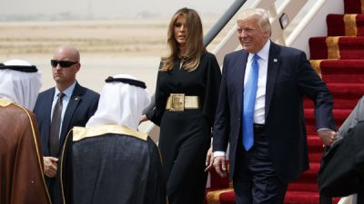 Trump Arrives In Saudi Arabia To A Warm Welcome, Despite Troubles At Home
