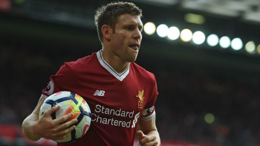 Liverpool team news: Milner keeps his place as Coutinho, Mane & Firmino start vs Tottenham