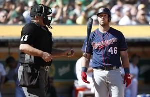 A's wild card delayed with 5-1 loss to Twins