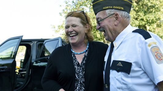Heitkamp Stresses Independence As Path To Re-Election In Trump Country