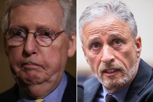 Stewart dares McConnell to meet 9/11 first responders