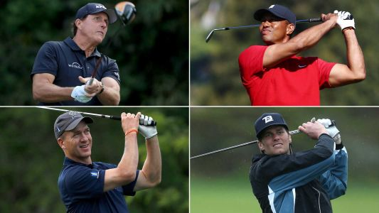 Tiger Woods and Peyton Manning win 'Champions for Charity' golf match