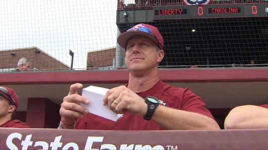 Gamecocks lose in extra innings to Liberty in season opener