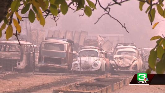 Camp Fire evacuees can check the status of their cars