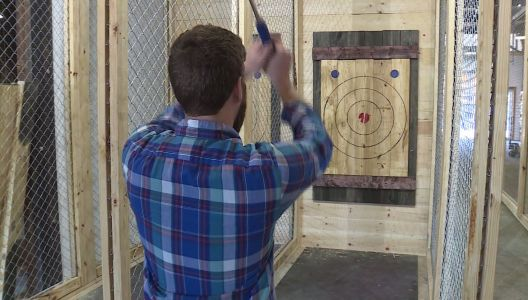 Axe throwing league starting in Greenville