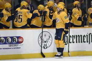 Granlund scores twice as Predators beat Flames 4-3 in OT