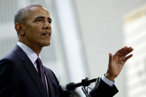 The Latest: Obama rallies supporters of Democratic candidate