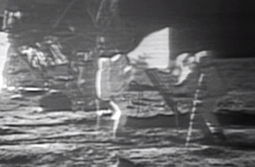 'One small step': Neil Armstrong steps on the moon for the first time 49 years ago