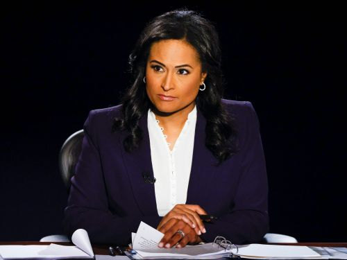 Democrats and Republicans are praising Kristen Welker for keeping control in the final debate between Trump and Biden