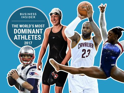 The 50 most dominant athletes alive