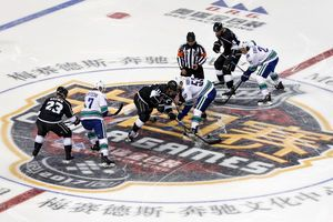 NHL taps new market, plays 1st preseason game in China