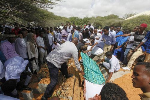 'Please bring my son back': Anguished Somali families mourn