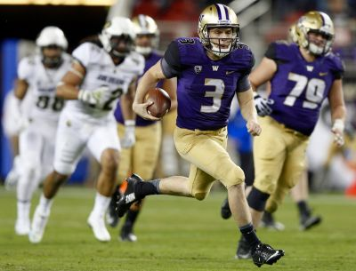 UW's Jake Browning is getting a much-needed break