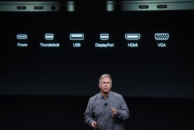 The new MacBook Pro requires $250 worth of dongles