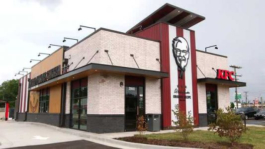 KFC with 'high-end' design opening in Louisville will donate unsold food