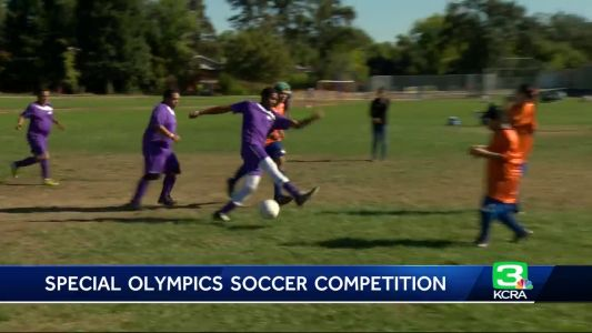Special Olympics athletes go for gold in Roseville soccer competition