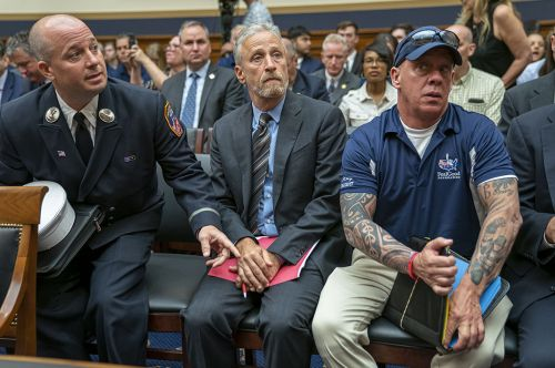 Jon Stewart continues to push Congress on behalf of 9/11 victims