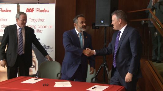 Gov. Bevin signs proclamation supporting global investment in Kentucky