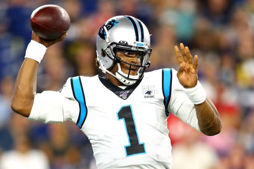 Panthers QB Cam Newton exits game with foot injury