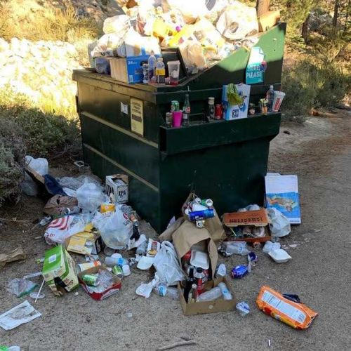 Tahoe residents fed up with tourists' trash plan rallies
