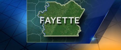 Dog left in cold in Fayette County
