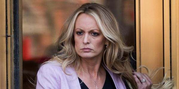 Video shows Stormy Daniels taken to jail in cuffs after being arrested at her Ohio strip club performance