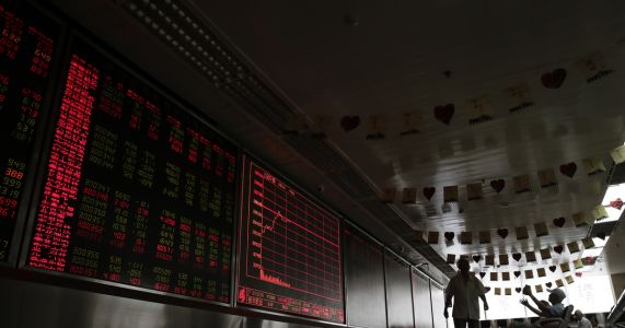 Asian stocks slide as investors fret over China's economy