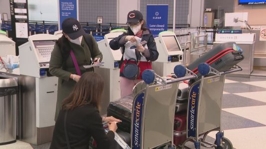 Millions expected to travel for Thanksgiving despite health officials' warnings against family gatherings