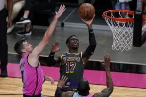 Jimmy Butler Drops 28 Points as Heat Hold off Injury-Riddled Lakers