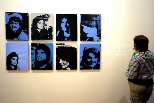Rare painting of Jackie Kennedy by Andy Warhol on sale this week