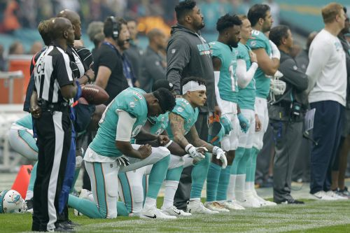 NFL finally realizes new anthem policy is a mess