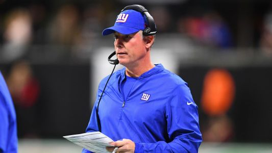 Giants coach Pat Shurmur 'wanted to be aggressive' on late two-point conversion attempt